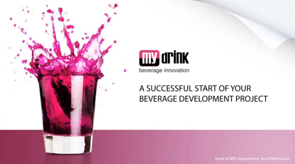 MyDrink Beverages Webinar