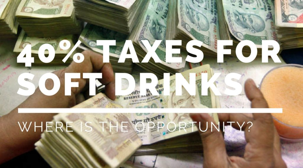 New GST Taxes for Carbonates Open Huge Opportunity For Beverage Innovations