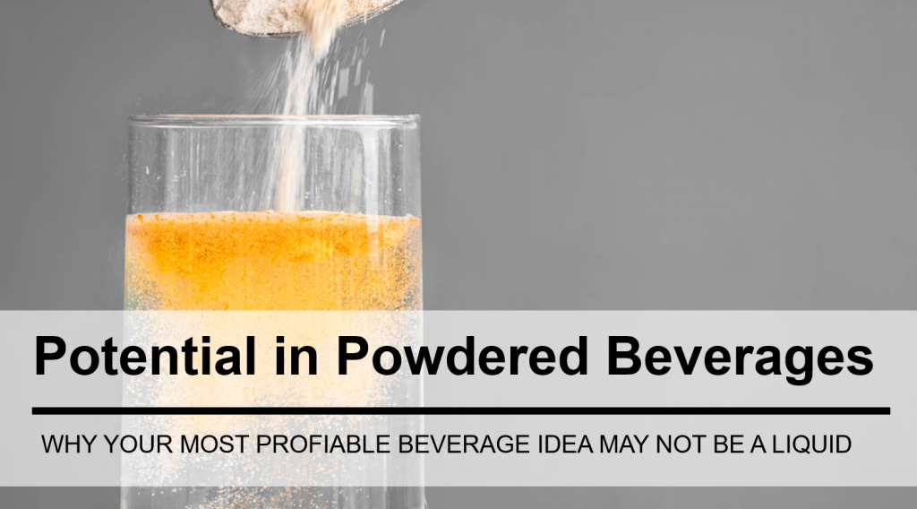 The Untapped Potential of Powdered Beverages