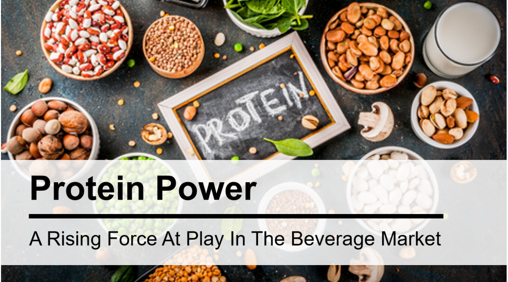 Protein Power—A Rising Force at Play in the Beverage Market