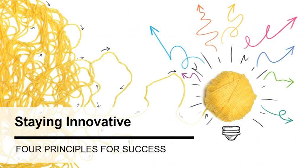 4 Principles For Staying Innovative In The Beverage Industry