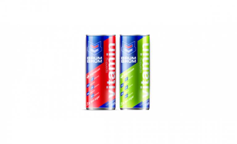 BRUM BRUM innovative sparkling vitamin drink